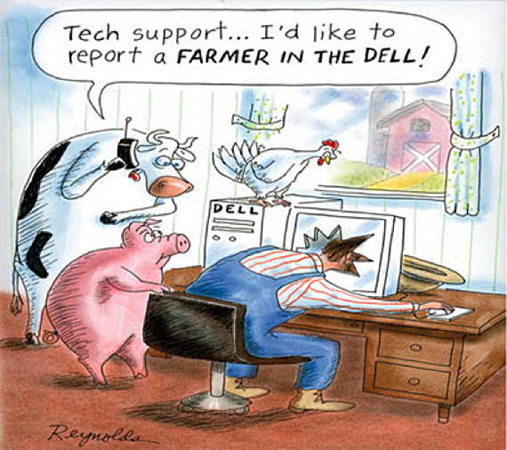 Loading Dell Farmer