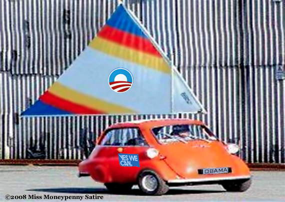 Loading Obama's WindWagen
