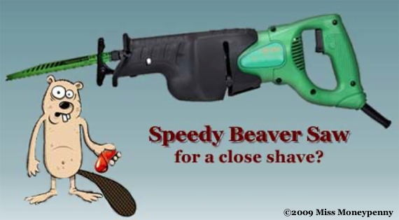 Loading Beaver Saw