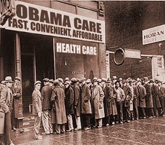 Loading ObamaCare Line