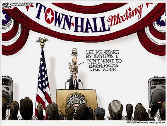 Loading Obamas TownHall