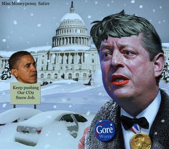 Loading Gore's CO2 Snow Job