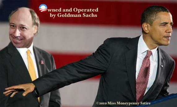 Loading Goldman Sachs Owns Obama