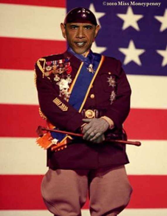Loading General Obama