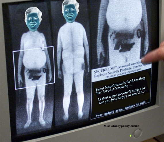 Loading TSA X-Ray