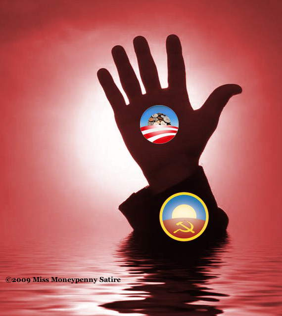 Loading the Red Sea of Obamunism