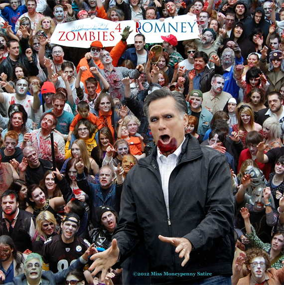 Loading Zombies For Romney 2012