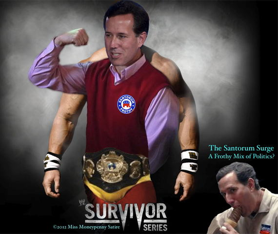 Loading Rick Rumbled Spreading Santorum