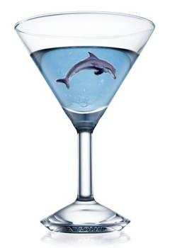Loading Blue Dolphin Martini
