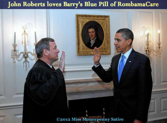 Loading Barry's Blue Pill
