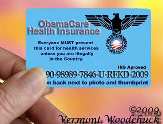 Loading ObamaCare Card