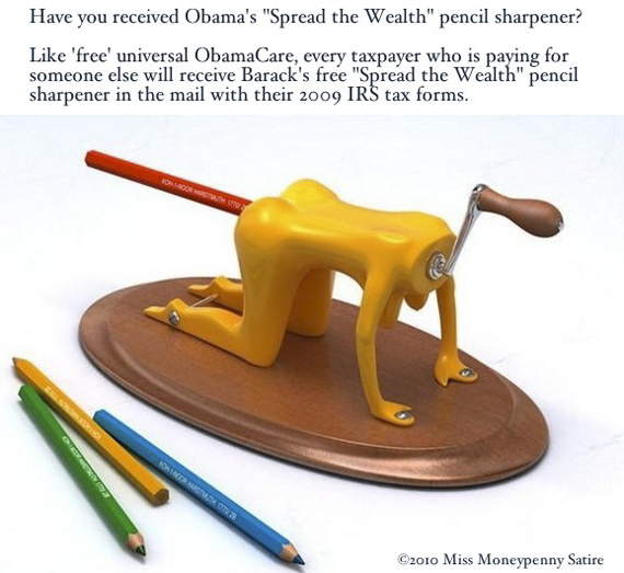 Loading Obama's 'Spread the Wealth' Pencil Sharpener