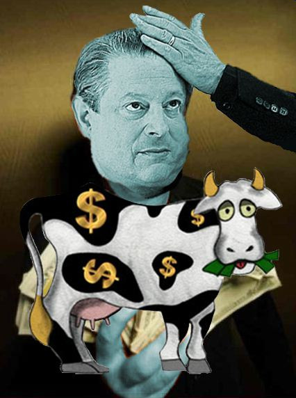 Loading Gore's Cash Cow
