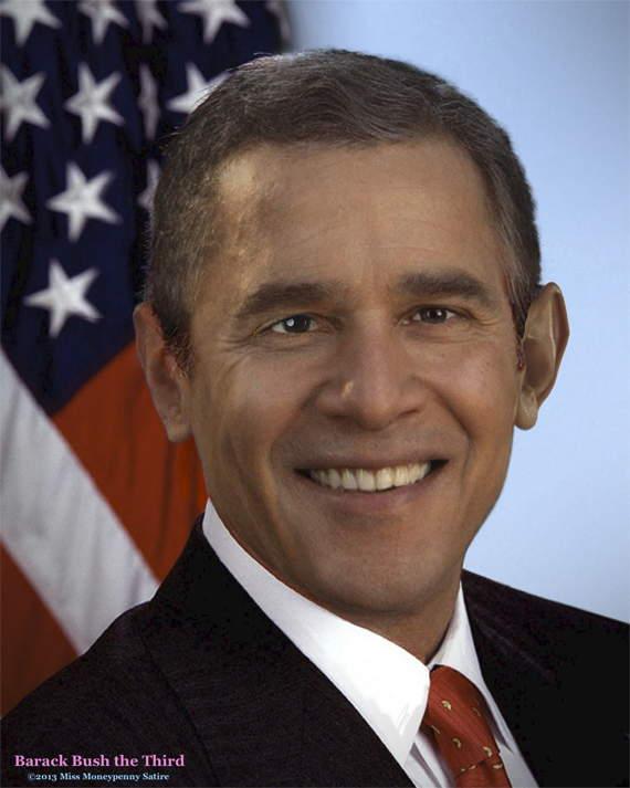 Loading Barack Bush