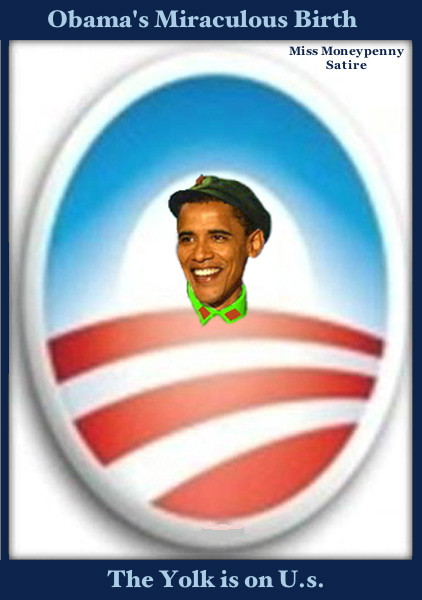 Loading The Obama Egg