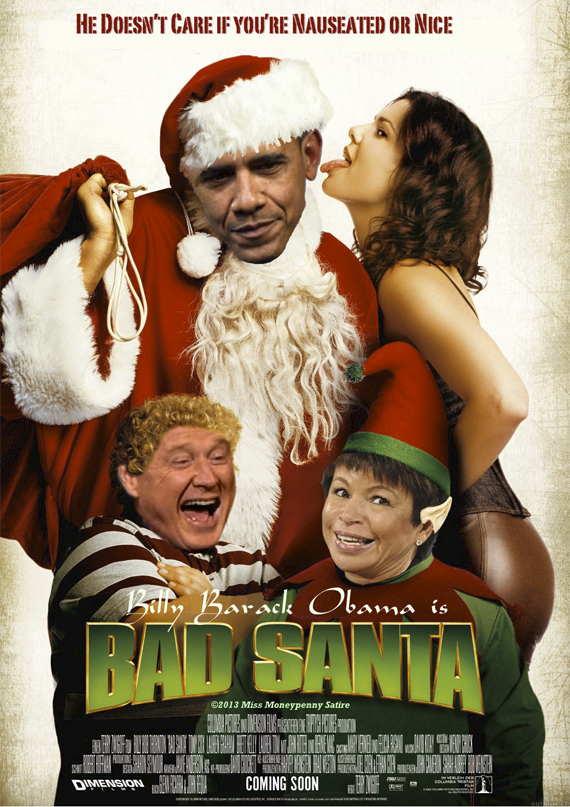 Loading O'Crap, Bad Santa is here